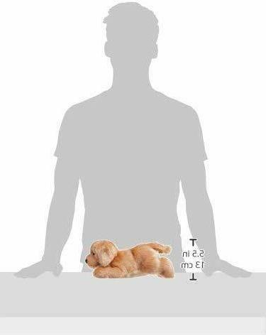 """Aurora Inc. Plush Goldie Dog, 12"""""""