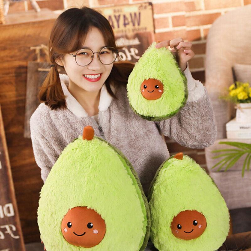 avocado fruits plush toys stuffed dolls cushion