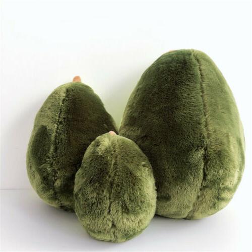 "Avocado Toys Fruits Stuffed Fruits Cushion 8""/12""/16"""
