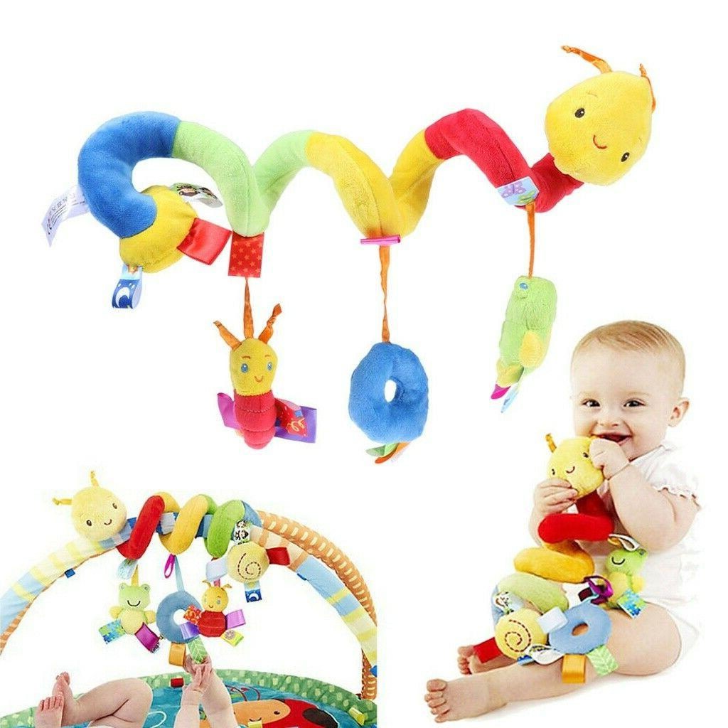 Baby Activity Spiral Car Lathe Hanging Hot