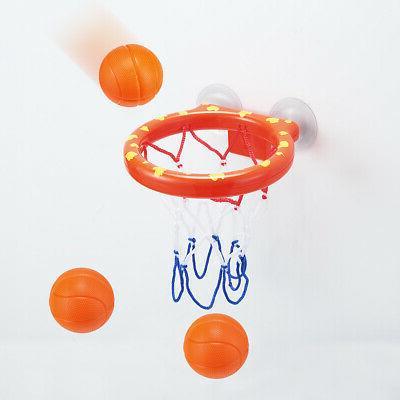 Baby Set Bath Balls Hoop, &