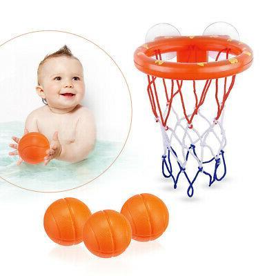 Baby Gift Set Bath Toys, Balls Hoop, & Girls