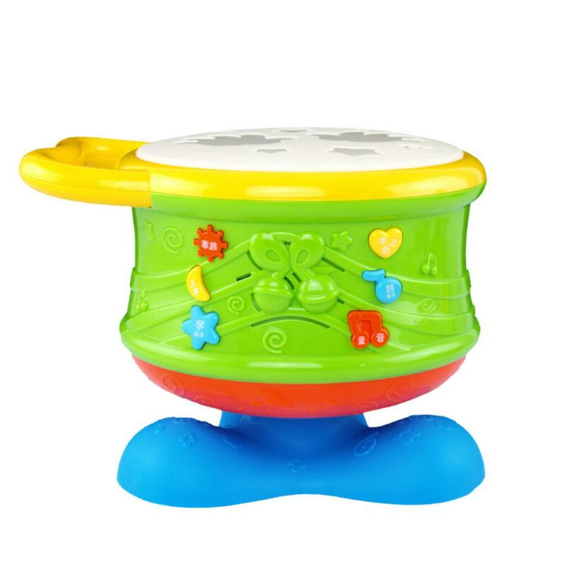 Toddler Baby Musical Drum Toys Learning Educational Toy Infa