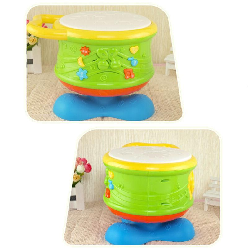 Toddler Baby Musical Drum Toys Learning Infant Electronic Drum