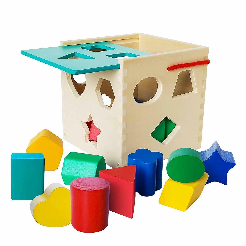 Baby Shape Educational Toddler Shapes Cube