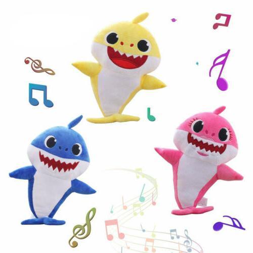 Baby Plush Singing Cartoon Toys Music Doll English Song
