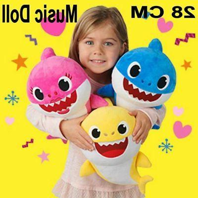 baby shark plush singing plush toys music