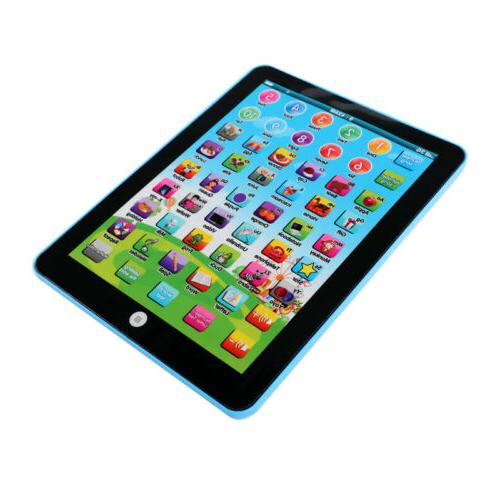Educational For Year Toddlers Kids Boy Learning Tablet