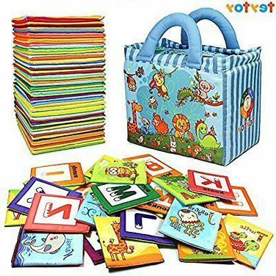 baby toy zoo series 26pcs soft alphabet