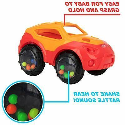 Baby Toys - - Cartoon Car 80488