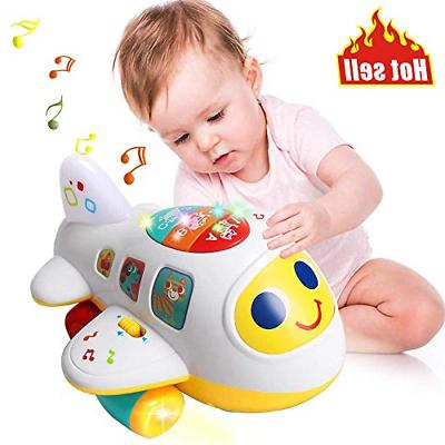 baby toys electronic airplane toys w lights