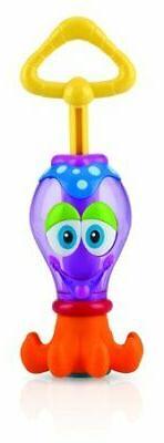 Nuby Bath Tub Toy, Squid the Squirter