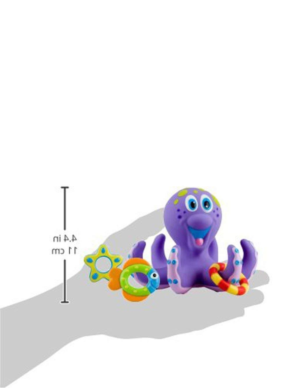 Baby Toy Octopus Tub Rings Gift