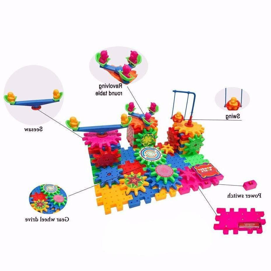 Wonder Gears Building Set 81 Pieces Age 3+ 3D Learning Puzzl