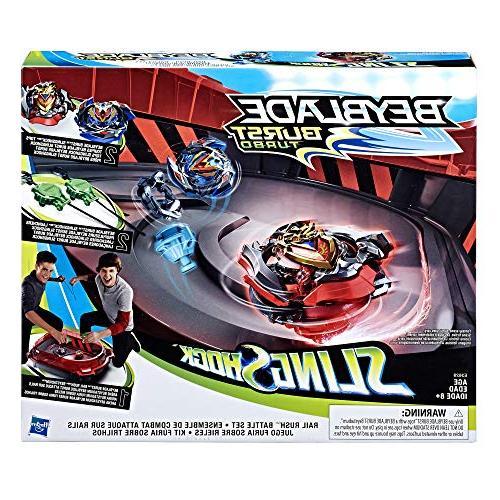 BEYBLADE Rail Rush Toy