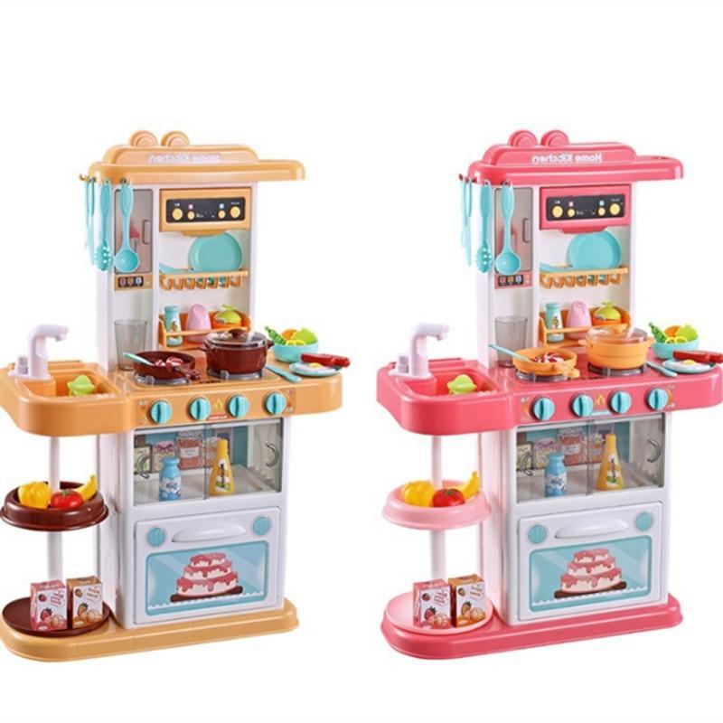 Child Play <font><b>kitchen</b></font> <font><b>toys</b></font> imitate chef <font><b>Kitchen</b></font> COOK game girl gift girls