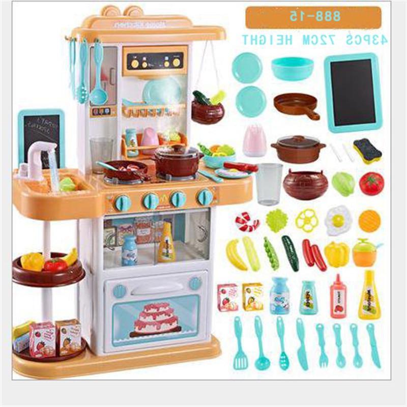 Child Pretend Play chef <font><b>Kitchen</b></font> COOK gift