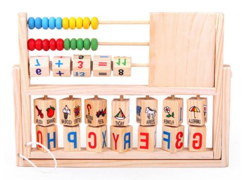Children Baby Kids Math Developmental Abacus Toys