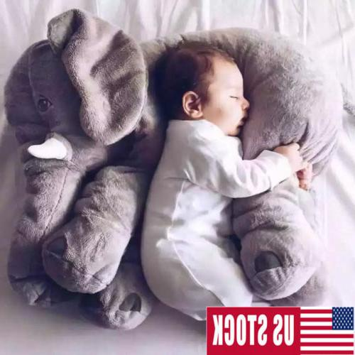 children elephant plush stuffed toys doll plush