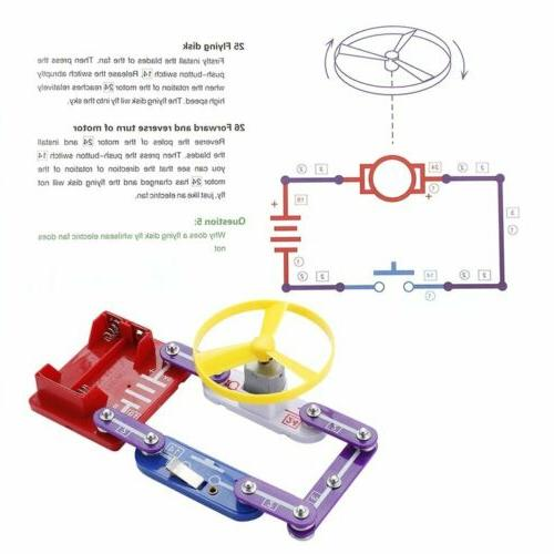 Circuits for 335 Electronics Circuits Experiments Kit