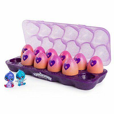 Hatchimals CollEGGtibles, 12 Pack Easter Egg Carton Exclusive Season