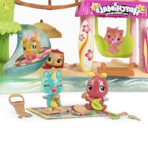 Hatchimals Tropical Party Playset with Exclusive Hatchimals, Up