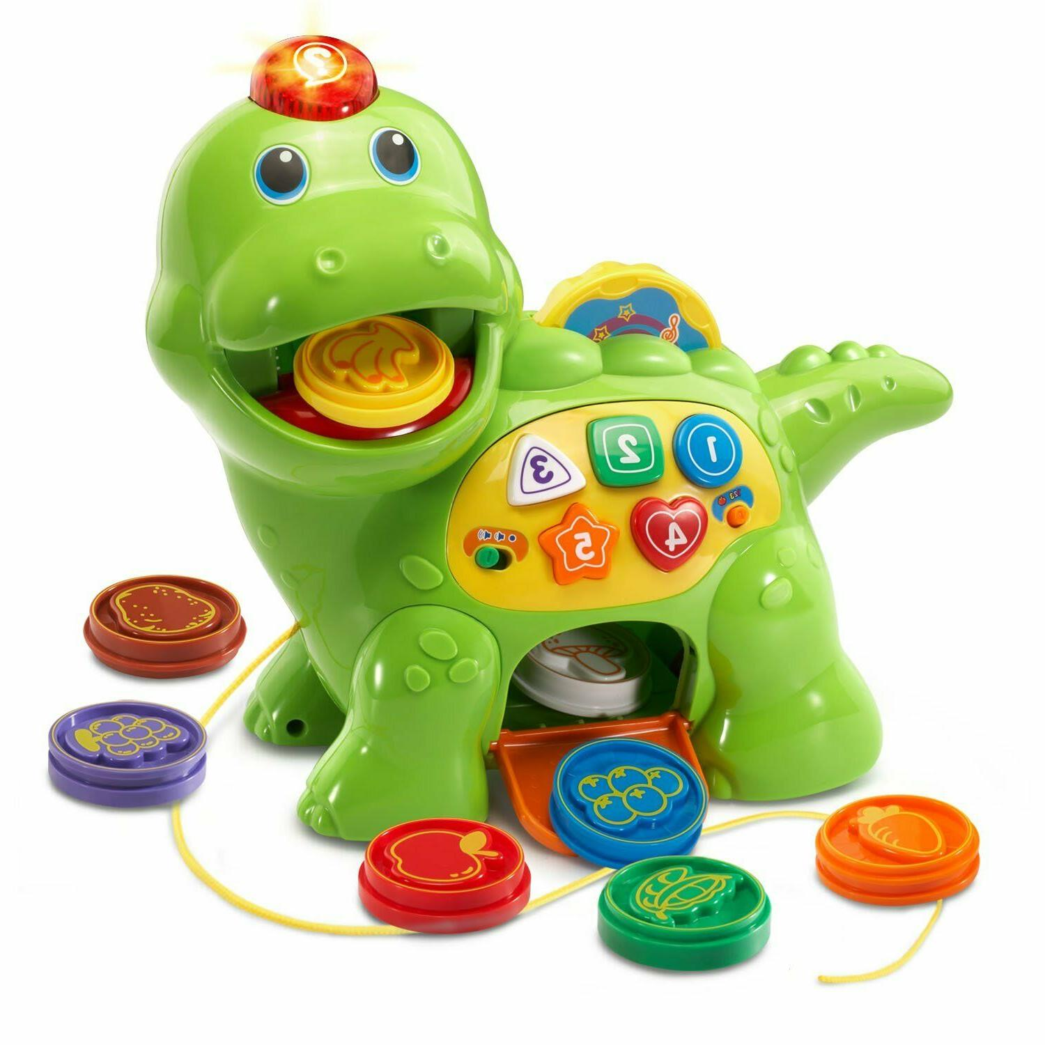 count and chomp dino dinosaur learning toy