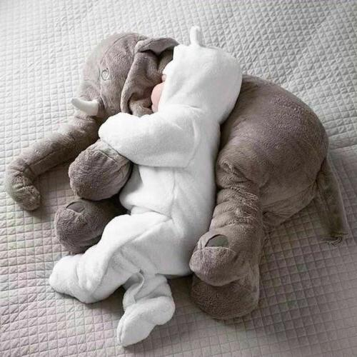 Cute Pillow Elephant Soft Baby Kids Nose Gift