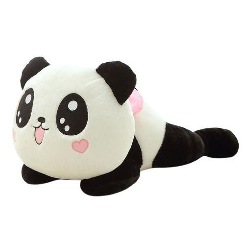 Cute Doll Stuffed Panda Pillow Bolster 20cm