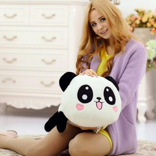 Cute Plush Stuffed Panda Pillow Cushion 20cm