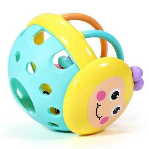 Baby Einstein Flexible Bendy Ball Rattle Toy for Babies BPA Free Educational Y2