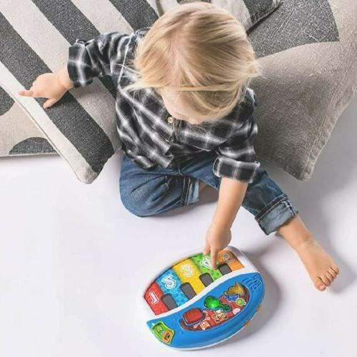 BABY EINSTEIN Discover Play Piano Keyboard Toy
