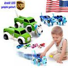 Dog Dinosaur Car Transformer Transform Auto Cute Cool Boy Gi