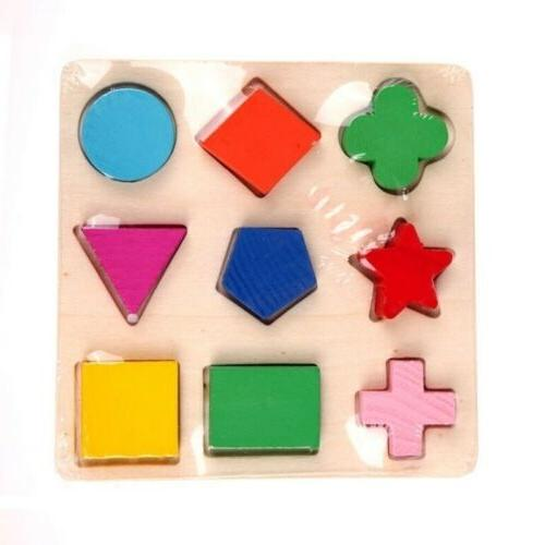 Educational Puzzle Sets Geometry