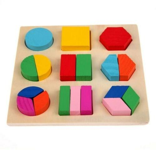 Educational Sets Geometry Wood Toys For Baby Early
