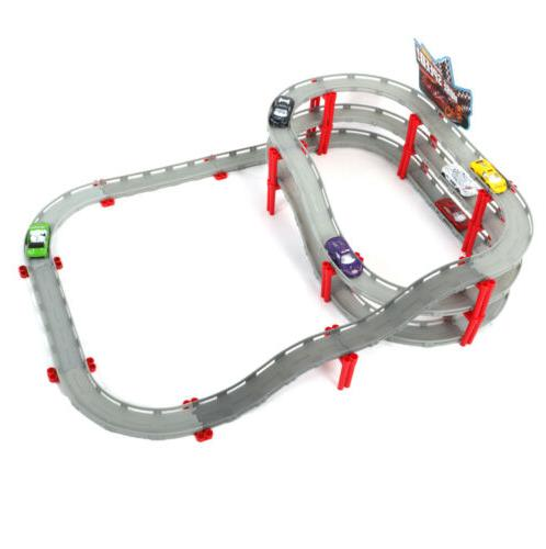 Electric Kids Model Road Building Slot Sets