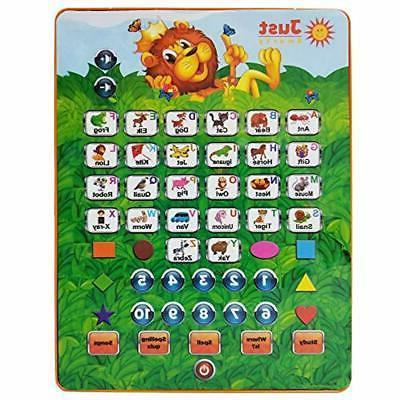 electronic learning toys abc tablet interactive educational