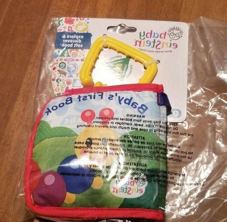 Baby Einstein Discover Book Toy