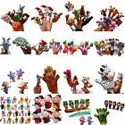 Family Finger Puppets Cloth Doll Baby Educational Hand Carto