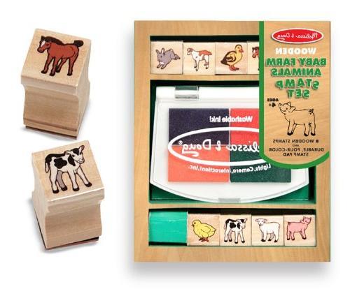farm animals stamp set arts
