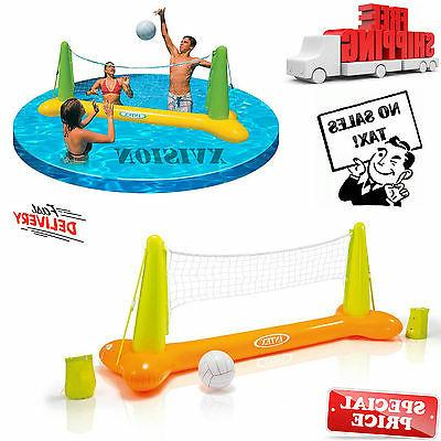 Intex Floating Inflatable Swimming Pool Toy Volleyball Game