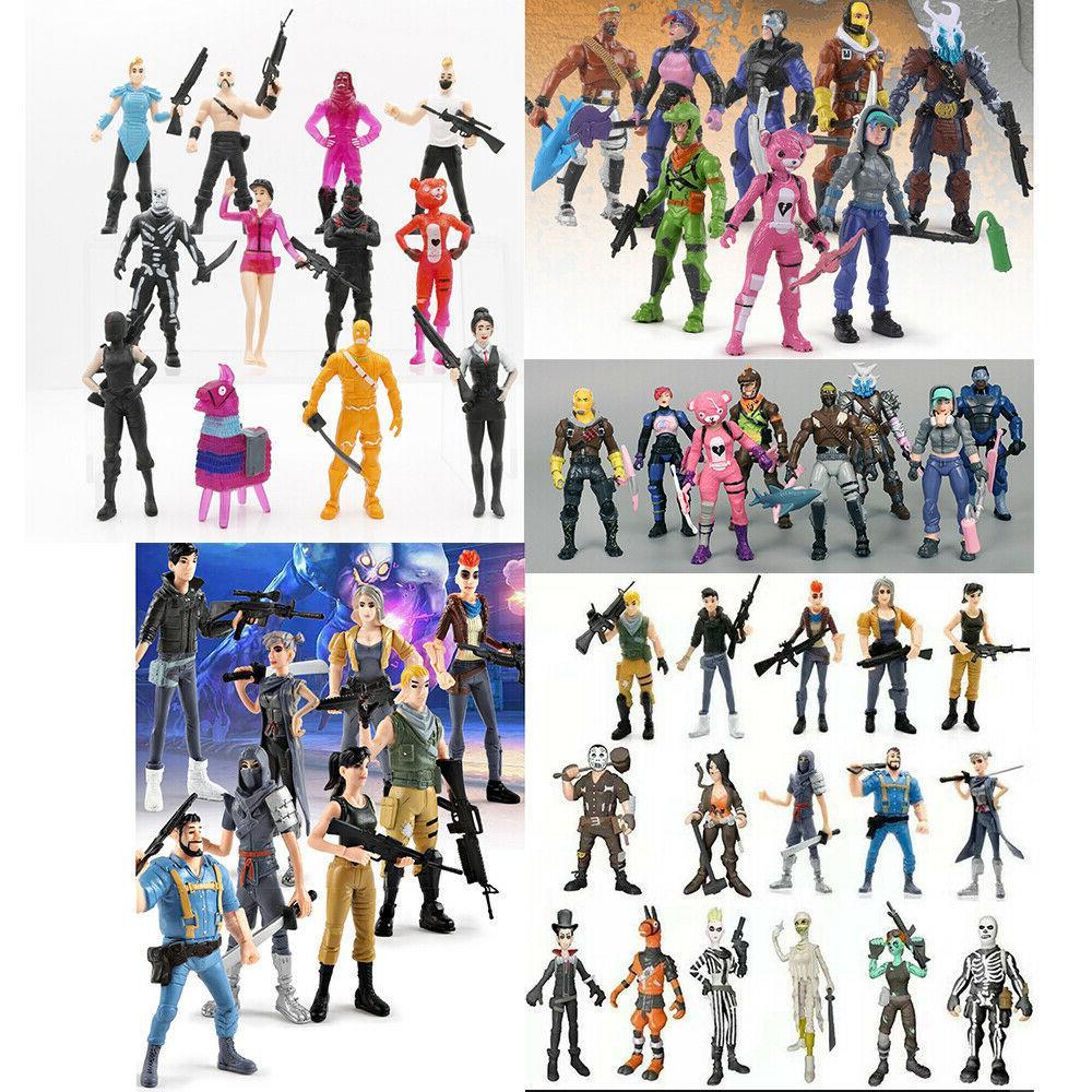 Fortnite Toys Action Figures Gift Toy Set Trooper Ninja Outl
