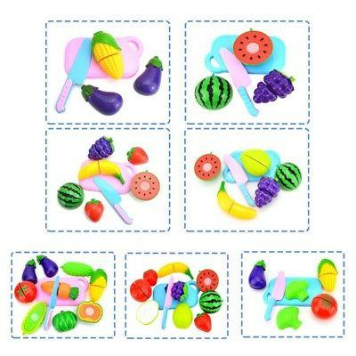 Fun Kids Plastic Vegetable Fruit Early Toys