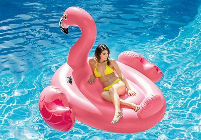 Intex Giant Inflatable Ride-On 86-Inch Mega Flamingo Island