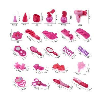 Girls Beauty Set Simulation Bag Plastic Toy Children