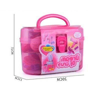 Girls Set Toys Bag Plastic For Children