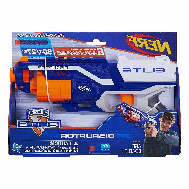 Nerf Gun Elite Blaster Toy Bullet Fire Refill