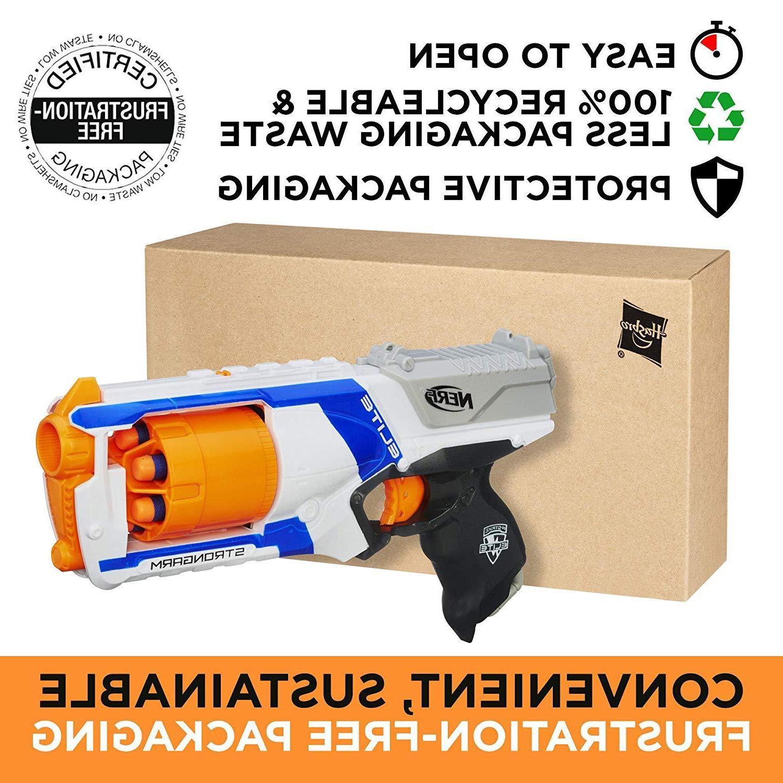 Nerf Gun N-Strike Blaster Darts Toy Bullet Fire Kids Refill