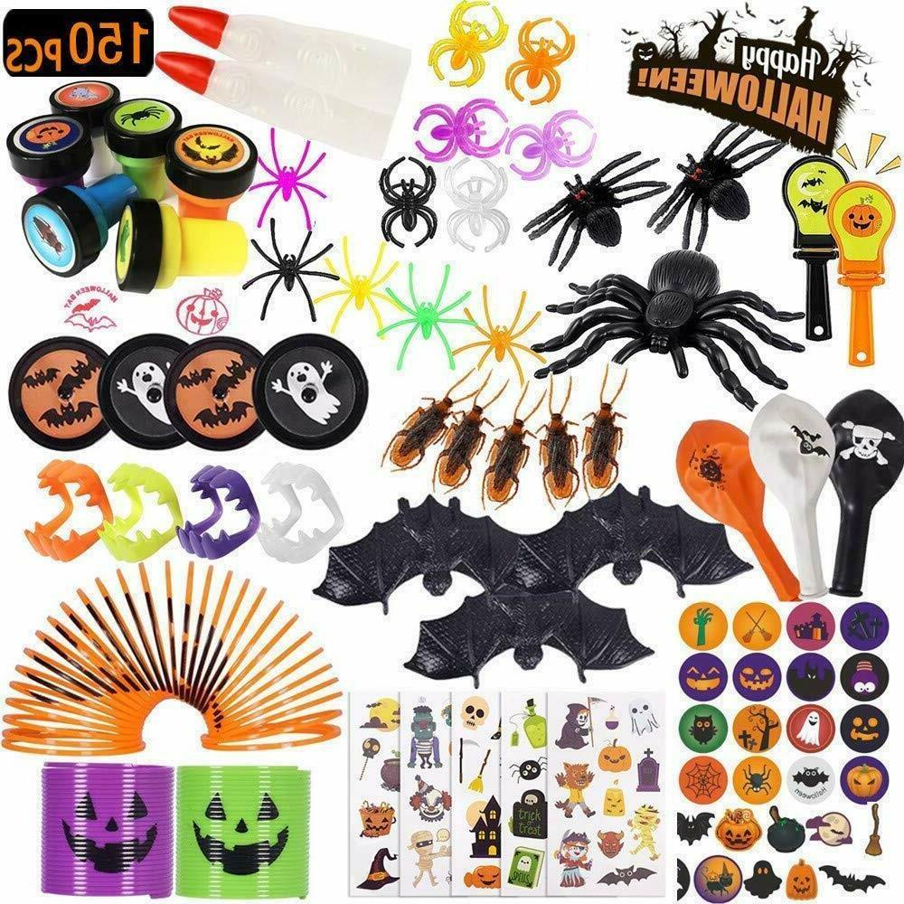 Halloween Party Favors Bulk Toys Supplies 150 Pcs Kids Hallo