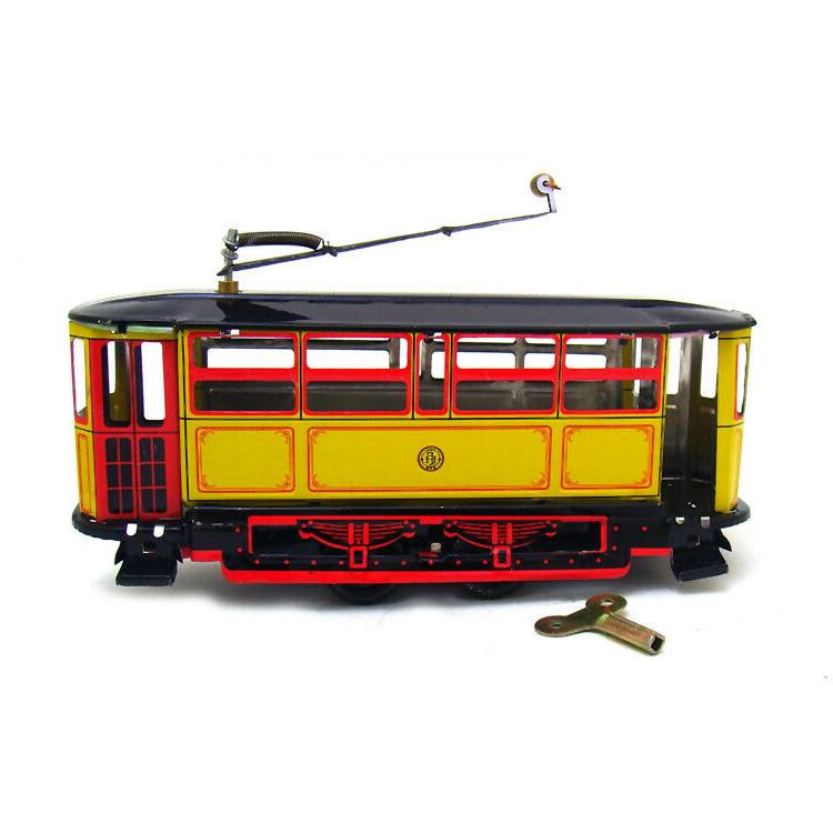 Hand-Made Electric Car Wind-up Toy Decoration Adult